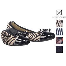 Butterfly Twists Womens Cara Packable Ballet Flats