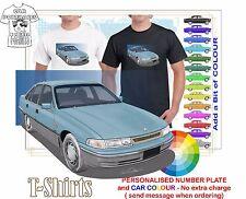 CLASSIC 91-95 VP CALAIS SEDAN ILLUSTRATED T-SHIRT MUSCLE RETRO SPORTS CAR