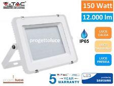 V-TAC PRO VT-150 FARO LED SMD 150W ULTRASOTTILE CHIP SAMSUNG DA ESTERNO IP65