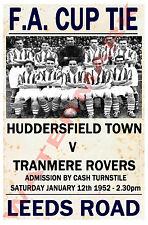 Huddersfield - Vintage Calcio Poster CARTOLINE - Scegli tra elenco