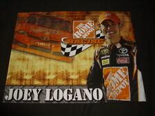 2012 JOEY LOGANO #20 HOME DEPOT NASCAR POSTCARD