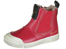 Ocra 502 Stiefeletten Stiefel Boots pflanz. geg.Leder Lammfell rot Gr.24-32 Neu
