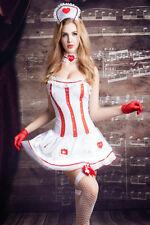 Tenue Deguisement Robe Infirmière Urgency Strass  T Costume