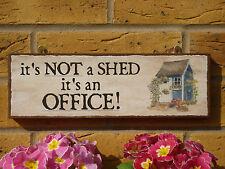PERSONALISED GARDEN SHED SIGN GARDEN OFFICE OUTDOOR WORKROOM OFFICE SUPPLIES DIY