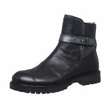 Momino 3792M Leder Boots Stiefeletten Stiefel Lammfell Gr. 35 - 41 Neu