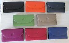 Soft Touch Cuir enveloppe sac à main * couleurs éclatantes Par Primehide