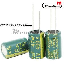 50pcs 47uF 400V 18x26.5mm SANYO 400V47UF FD Electrolytic Capacitor