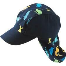 Niños Dinosaurio Sol Sombrero Legionario Gorra De Verano máxima del niño más joven Azul Multi