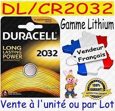 Piles boutons CR2032 DURACELL - Dispo aussi : CR2025 CR2016 CR1220 CR2430 CR2450