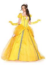 Sexy Leg Avenue Adult Women's Halloween Deluxe Disney™ Princess Belle Costume