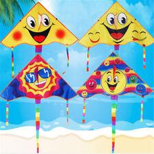 Huge 80cm Smile Faces Single Line Novelty Expressions Kites Children's Gift Toys