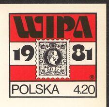 POLAND 1981 **MNH Postcards Cp#781 WIPA 1981