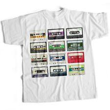 Cassettes Retro Old Skool 80'S Classic Funny Mens Eighties Film Movie Music