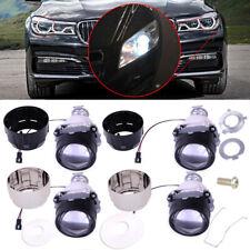2.5'' H1 Car HID Low High Beam Bi-xenon Projector Lens Kit Headlight Bulb Shroud