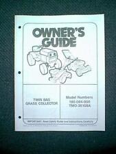 Mtd Tractor Twin Bagger 190064000 Tmo35108A Manual