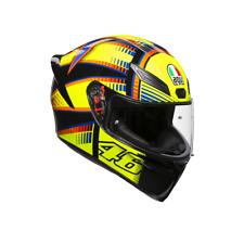 *NEW #2018 AGV K1 ROSSI #VR46 QATAR SOLELUNA MOTORCYCLE RACE CRASH HELMET #PISTA