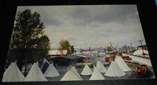 Vintage Postcard Oregon Centennial Expo 1959 Indian Village