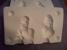 "NEW #1215 Ceramic Emporium Mold ""Boy & Girl with Hearts - LAST ONE"