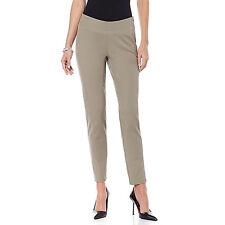 Sigrid Olsen Studio Women's Bi-Stretch Slim Seam Pants Taupe HSN  MSRP:$89.00