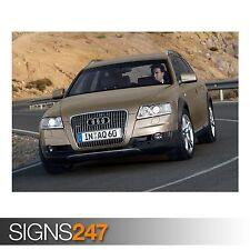 AUDI A6 Allroad 3.0 TDI (AC989) cartel de auto-foto arte cartel impresión * Todos los Tamaños