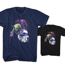 Herren T-Shirt Zombie Joda Dead Jedi Star Meister Wars Robot R2-D2 Neu ZJ22216