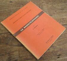 LA RADIOTELEPHONIE PAR B. SERABIAN 1969 PILOTE PRIVE D'AVION