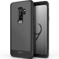 OBLIQ® Samsung Galaxy S9/S9 Plus [Flex Pro] Black TPU Shockproof Slim Case Cover