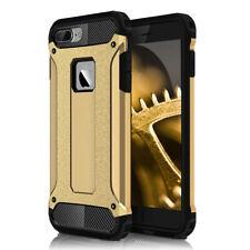 Funda rígida para iPhone 4 4s oro Hybrid outdoor Armor cover plástico back bolso