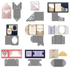 Hollow Lace Frames Metal Cutting Dies Scrapbook Embossing Card Paper Craft DIY
