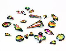 Genuine SWAROVSKI Crystal Vitrail Medium Color Pendants * Many Shapes & Sizes