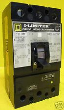 Square D I-Limiter KIL36125 KIL 125 Amp Breaker Top & Bottom Lugs 125A IKL36125