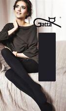 """Gatta """"Touch of Cashmere"""" Strick-Strumpfhose warm und weich in schwarz"""
