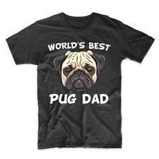 World's Best Pug Dad Dog Owner T-Shirt