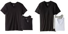 NEW Calvin Klein Men's 3 Pack LOGO V-Neck Cotton Shirts S M L XL Classic Fit