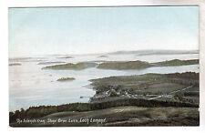 Luss - Loch Lomond Photo Postcard c1905