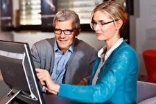 2 Kunststoff Business Brillengläser 1.74 Relax Wellnessgläser Arbeitsplatzbrille