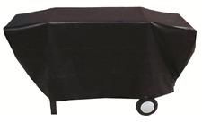 BQC033 65x205cm; Economy Flat topped 4-6 burner BBQ Cover; Black