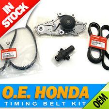 Honda/Acura V6 Premium Timing Belt & Water Pump Kit  Genuine/OEM Factory Parts!