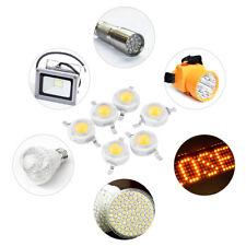 100 Pezzi 1W 3W Alta Potere SMD LED Perline Lampada Lampadina DIY a Diodo