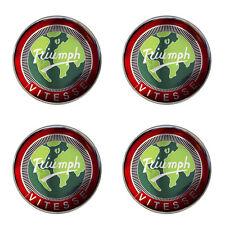 Triumph stag logo rouge auto-adhésif lot de 4 gel roue centres