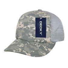94dd9e30 Decky Camouflage Foam Trucker 5 Panel High Crown Hats Caps Snapback