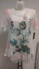 Tolles Damen Shirt Mallorca Tunika Bluse Hemd  Größe 40-42 A Linie