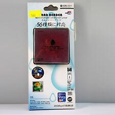 Lettore di Schede Memoria Card Reader USB 2.0 Mini CF SD SDHC MS TF M2 XD MMC ;
