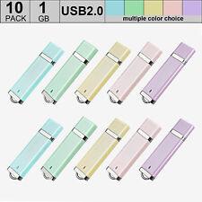 10PCS 1G 2G 4G 8G 16G Lighter Model USB Flash Drive Flash Memory Stick 5 Colors