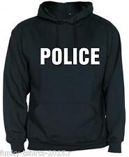 SUDADERA  CAPUCHA POLICE  HOODIES