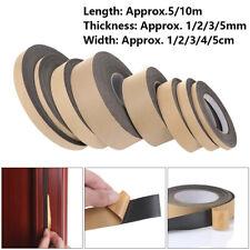 Window Door Single Sided Adhesive Rubber Strip Tape Foam Sponge Seal Strip