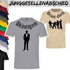 JGA Bräuti Gang T-Shirt | Junggesellenabschied | Bräutigam | Team | Bande Party