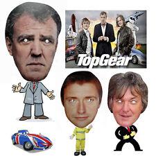 TV Show Celebrity Face Mask Top Gear Super Cars Presenters BBC Xmas Party Masks