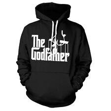Ufficiale Il Padrino Logo Black Felpa con cappuccio Hooded sweater-White Retrò al Don