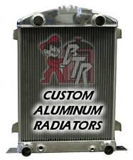 "1932 Ford FLAT HEAD ""ALUMINUM"" Radiator (MADE IN USA)"